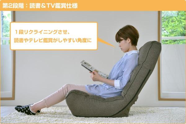 第二段階:読書&TV鑑賞仕様