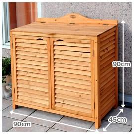天然木杉材のシンプル設計