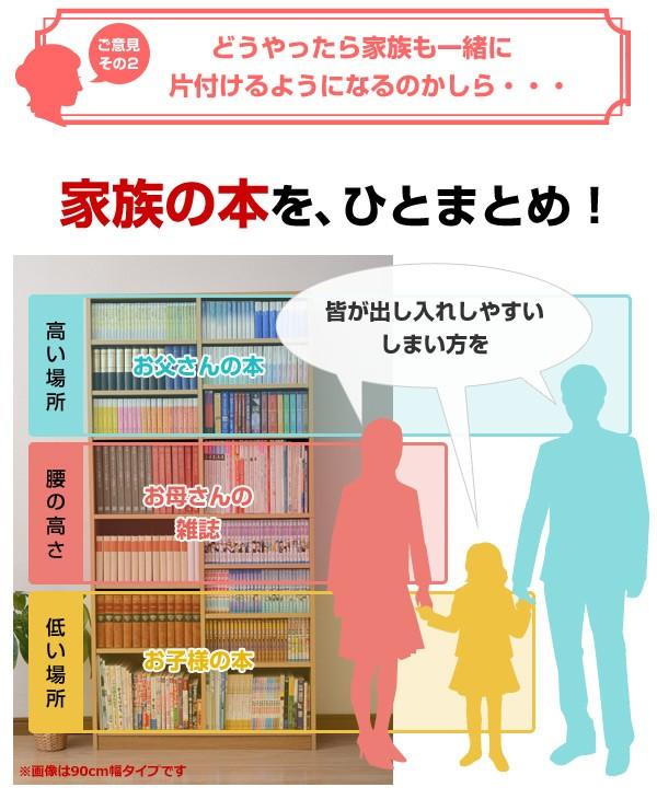 家族の本を、ひとまとめ!