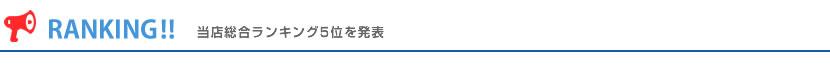 ▼総合人気ランキング