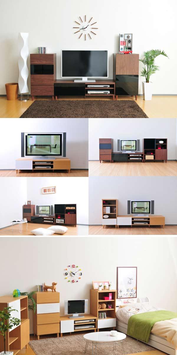 光沢仕上げ家具