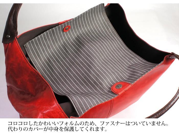 説明3|【日本製・送料無料】ハンドバッグ トートバッグ レディース 肩掛け 本革 牛革 丸型 女性 大人 キュート 大容量 軽い 軽量
