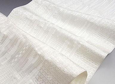博多帯 黒木織物 経筬よろけ 本場筑前博多織 金印 八寸 名古屋帯