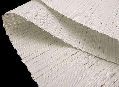西陣織 ぜんまい紬 白鼠 無地(単衣・袷)用 九寸 名古屋帯