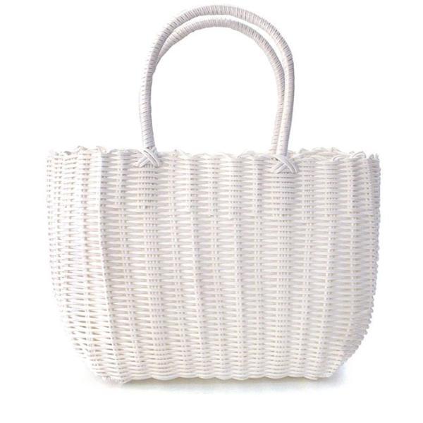 かごバッグ カゴバッグ ビニール トートバッグ レディース 収納 インテリア 鞄 バスケット 子供 エコバッグ ストローバッグ|e-zakkamania|25