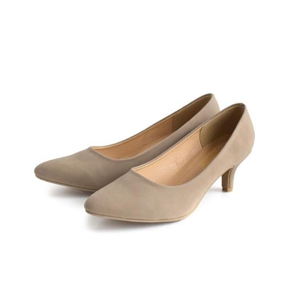 パンプス 痛くない 歩きやすい レディース 黒 結婚式 春 6cmヒール ポインテッドトゥ 靴 ブラック フォーマル ヒール happyyellow e-zakkamania 22