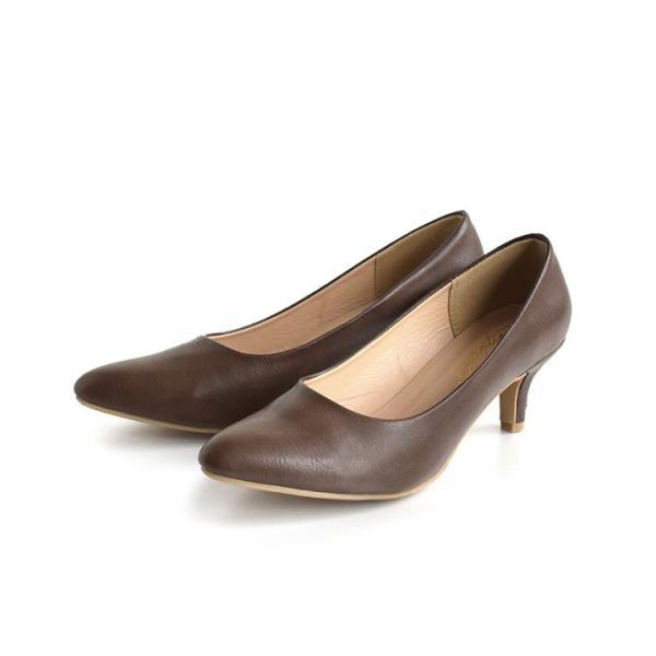 パンプス 痛くない 歩きやすい レディース 黒 結婚式 春 6cmヒール ポインテッドトゥ 靴 ブラック フォーマル ヒール happyyellow e-zakkamania 23