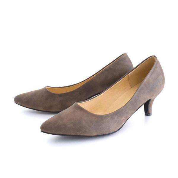 パンプス 痛くない 歩きやすい レディース 黒 結婚式 春 6cmヒール ポインテッドトゥ 靴 ブラック フォーマル ヒール happyyellow e-zakkamania 25