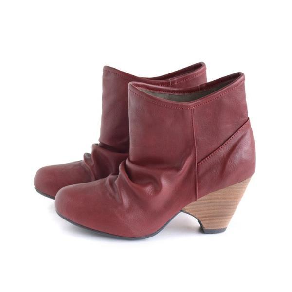ショートブーツ レディース ブーティー ブーツ 歩きやすい 痛くない 秋 冬 フェイクレザー 婦人靴 チェック柄 無地|e-zakkamania|22