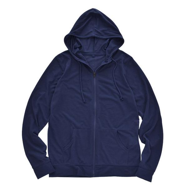 UVパーカー レディース 春 夏 トップス ジップパーカー ジップアップパーカー 羽織り アウター 長袖 綿混 コットン混 薄手 UV 紫外線 日焼け e-zakkamania 30