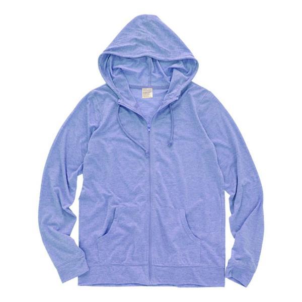 UVパーカー レディース 春 夏 トップス ジップパーカー ジップアップパーカー 羽織り アウター 長袖 綿混 コットン混 薄手 UV 紫外線 日焼け e-zakkamania 26