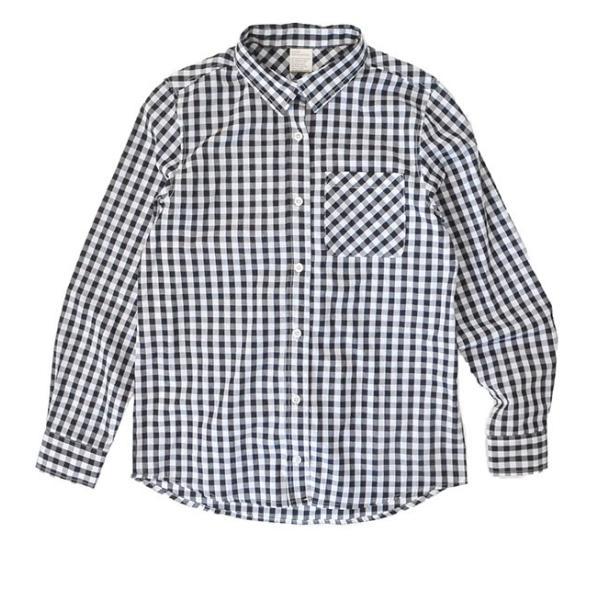 UVカット シャツ ブラウス レディース 長袖 白シャツ ゆったり UV対策 日焼け対策 紫外線 UVカットシャツ チェックシャツ 秋|e-zakkamania|22
