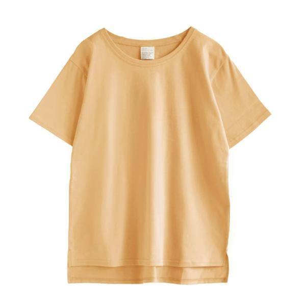 汗しみ防止 Tシャツ レディース 春 夏 半袖 汗 吸収 速乾 脇汗 綿100% UV対策 カットソー ゆったり 大きいサイズ 無地 撥水 吸水 メール便可|e-zakkamania|20