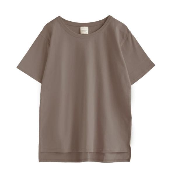 汗しみ防止 Tシャツ レディース 春 夏 半袖 汗 吸収 速乾 脇汗 綿100% UV対策 カットソー ゆったり 大きいサイズ 無地 撥水 吸水 メール便可|e-zakkamania|21