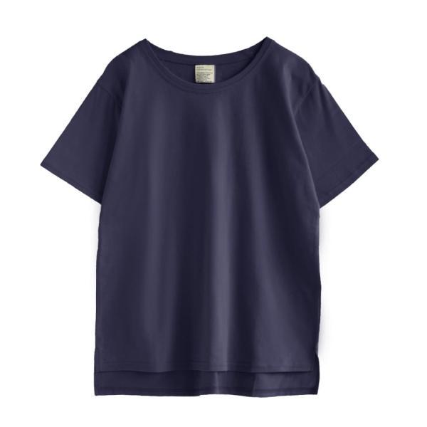 汗しみ防止 Tシャツ レディース 春 夏 半袖 汗 吸収 速乾 脇汗 綿100% UV対策 カットソー ゆったり 大きいサイズ 無地 撥水 吸水 メール便可|e-zakkamania|22