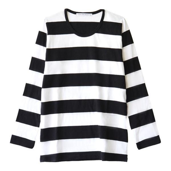 カットソー 長袖 レディース 綿100% 無地 ボーダー ロンT トップス Tシャツ コットン 大きいサイズ ゆったり 丸首 秋 e-zakkamania 20