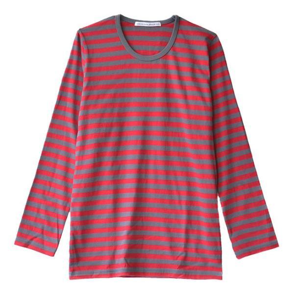 カットソー 長袖 レディース 綿100% 無地 ボーダー ロンT トップス Tシャツ コットン 大きいサイズ ゆったり 丸首 秋 e-zakkamania 22
