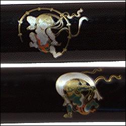 模造刀短刀雷神ZS502