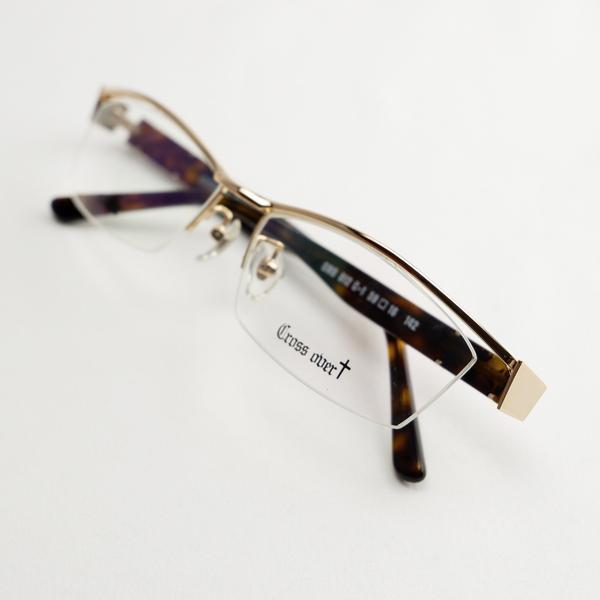 大きいメガネ ちょい悪 レンズ込み メンズ ビックフレーム 度付き眼鏡 伊達めがね ダテ 白 ホワイト ゴールド おしゃれ ドライブ バイク UVカット 男性 e-zone 18
