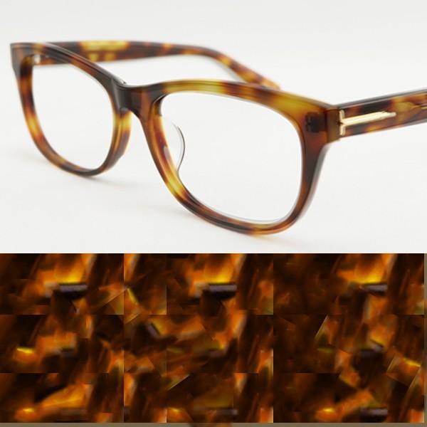 大きいフレーム 大きめサイズのメンズ眼鏡 度付きメガネ ダテめがね おしゃれなウェリントン 大きい顔向き Z8432|e-zone|23