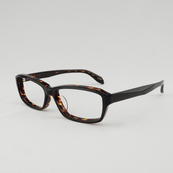 大きいフレーム 太い 大きめサイズのメンズ眼鏡 度付きメガネ ダテめがね 大きい顔向き z8433|e-zone|19