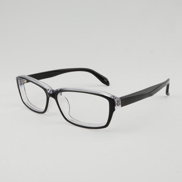 大きいフレーム 太い 大きめサイズのメンズ眼鏡 度付きメガネ ダテめがね 大きい顔向き z8433|e-zone|22