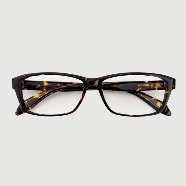 大きいフレーム 60サイズ 大きめサイズのメンズスクエア 度付きメガネ ダテめがね 大きい顔向き z8434|e-zone|19