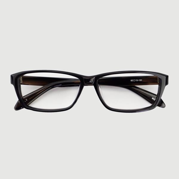 大きいフレーム 60サイズ 大きめサイズのメンズスクエア 度付きメガネ ダテめがね 大きい顔向き z8434|e-zone|20