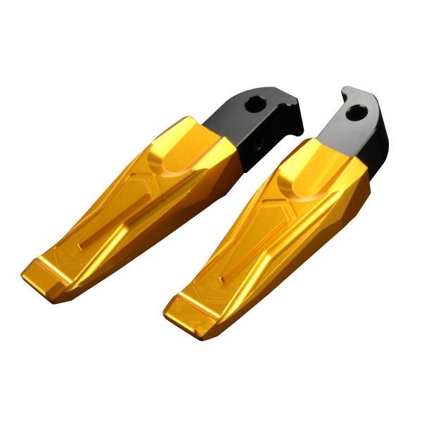 アルミ削り出し タンデムステップ YAMAHA車 汎用 左右セット 角度調整可 アルマイト処理 S-692|eale|17