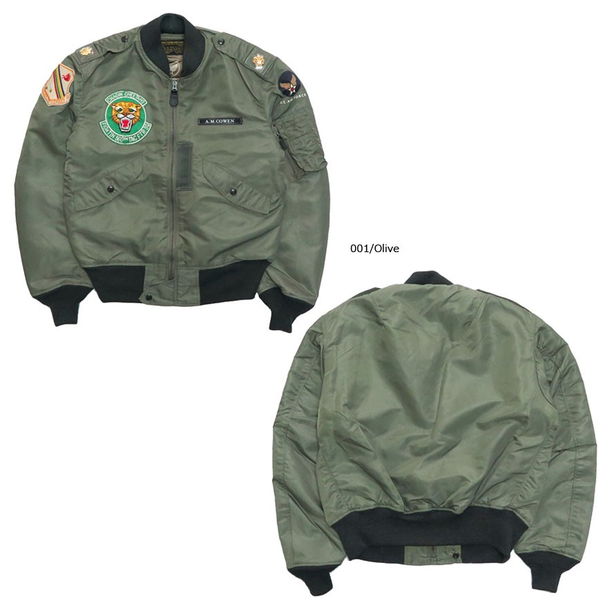Buzz Rickson's バズリクソンズ フライトジャケット L-2B 「560th TACTICAL FIGHTER SQUADRON」 BR14350