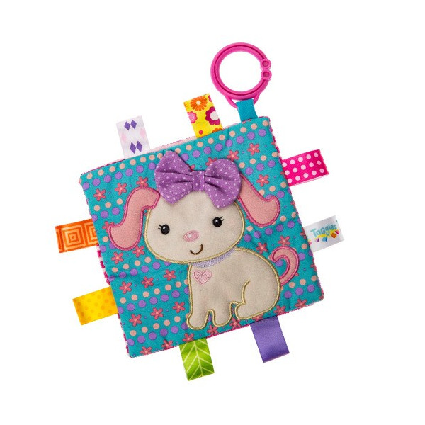 Taggies Crinkle me Baby Toy シャカシャカ クロス ebaby-select 11