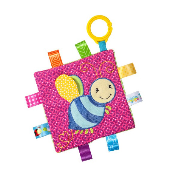 Taggies Crinkle me Baby Toy シャカシャカ クロス ebaby-select 10