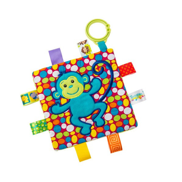 Taggies Crinkle me Baby Toy シャカシャカ クロス ebaby-select 09