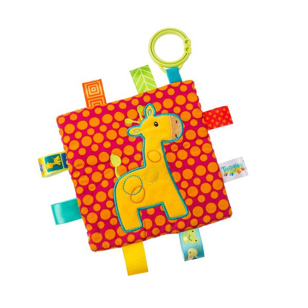 Taggies Crinkle me Baby Toy シャカシャカ クロス ebaby-select 08