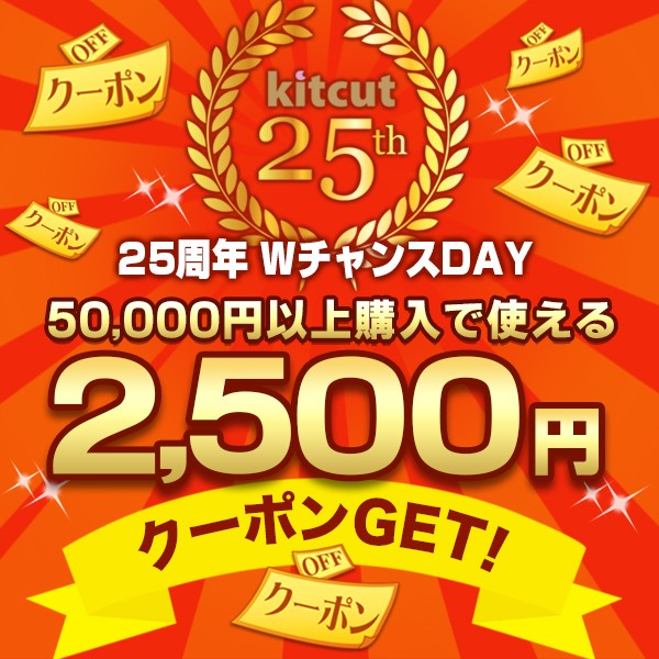 【25周年WチャンスDAY】2,500円OFFクーポン