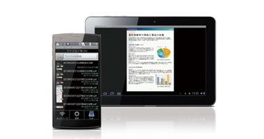 スマートフォン / タブレットと簡単に連携の画像