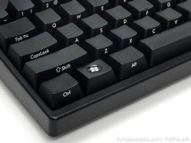 Windowsキーは通常のキートップをはめた状態で出荷しますの画像