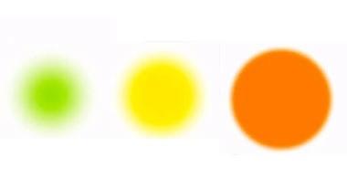空気質の変化を色でおしらせの画像
