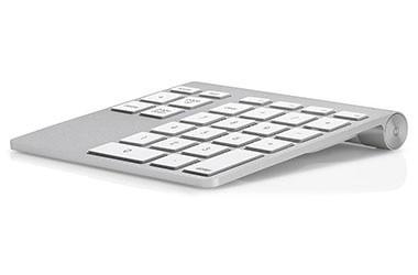 コマンドとテンキーをアップルキーボードにプラスしますの画像