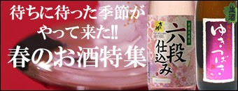 春の日本酒特集