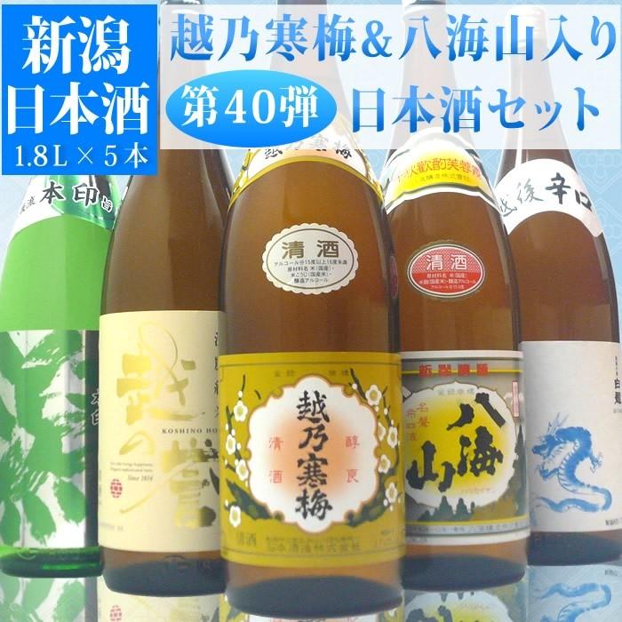 日本酒 セット(第40弾)