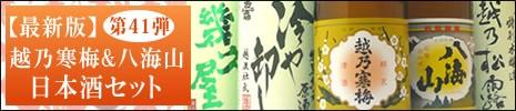 日本酒 第41弾セット(送料無料)