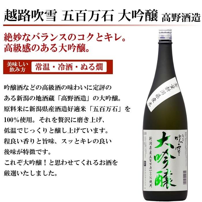 日本酒 越路吹雪大吟醸
