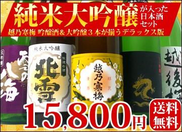 日本酒 純米大吟醸入りセット