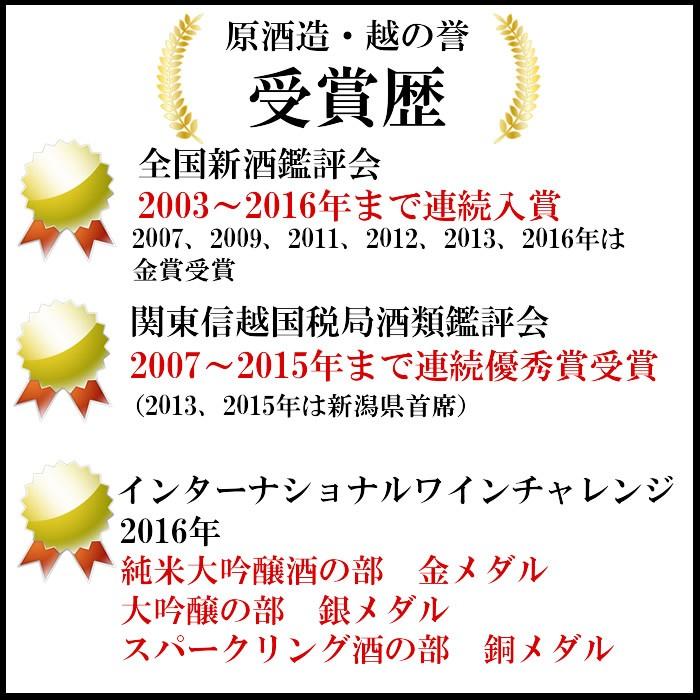 原酒造・受賞歴