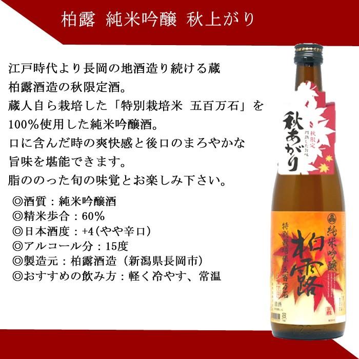 日本酒 ひやおろし 柏露さんずい