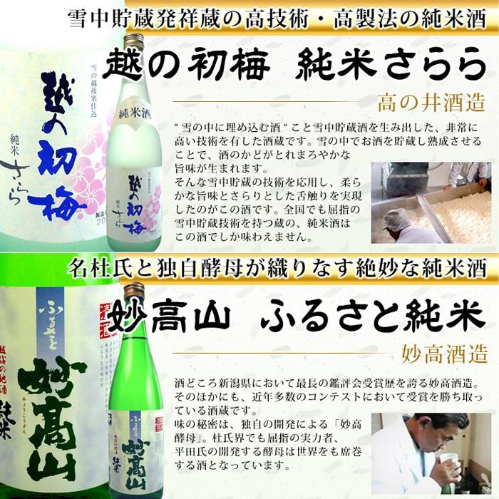 純米酒 初梅さらら 妙高山