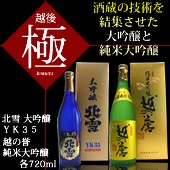日本酒 大吟醸 純米大吟醸極セット