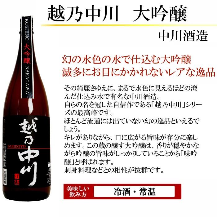 日本酒 北雪 純米大吟醸