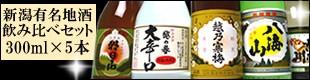 新潟・有名日本酒銘柄飲み比べセット